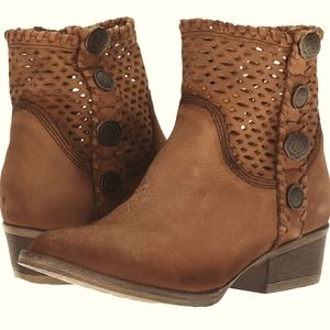 CIRCLE G CORRAL Q0118 ANKLE BOOTS